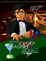 Casino Royale Poster Tribute ( Final Draft ) by PhantomMasterRamos89