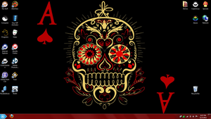 Muerte Desktop by Buddha-Cat