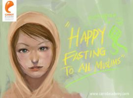 Happy Fasting to All Muslims by carrotacademy
