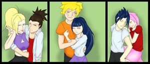 Naruto Couples by KAI314