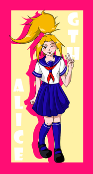 Alice Poster by RMPmangaka