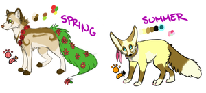 Summer ref and new Spring ref! by miyumicat