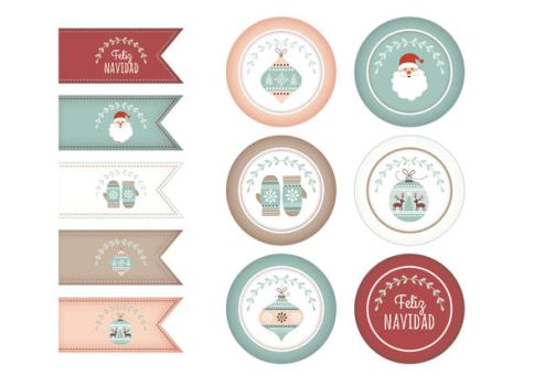 Christmas toppers by minerva-aurora