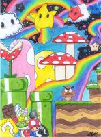 Super Mario World by volleyballplayer13