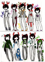 Homestuck FanTroll Adoptables- closed by MonsterRadio