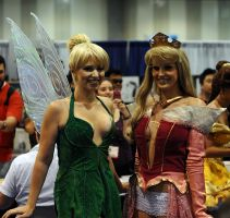 Tink and Aurora all grown up by nikon373