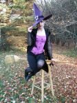 Purple Spider Witch 16 by Stocked-N-Loaded
