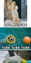 Polar Bear Tube Jump by Genesis343
