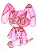 Patchwork Bunny by gothic-faerie6