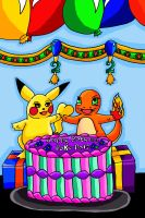 Happy birthday Poke Pals by Animal-and-anime-lvr