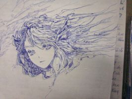 at class :3 only with pen =w=~ by Hahanvu