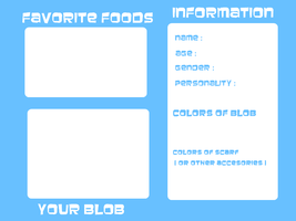 Scarf Blob Information Sheet by Beulshiet
