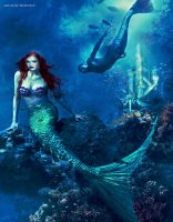 Holland Roden as Ariel by Soph-LW
