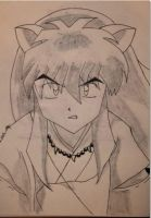 Black and White Inuyasha by Bapic