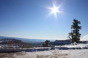 Bryce Canyon Winter Sun background 2 by photohouse