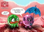 Sugar Queen: Sour Bill meets Bombom Lola by GND-KicaCris