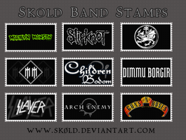Skold Band Stamps Pack by Sk0ld