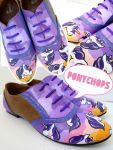 Unicorn and Sunset Brogues by ponychops