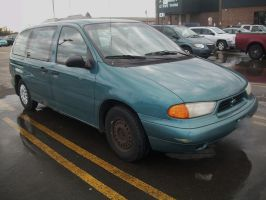 (1995) Ford Windstar GL [Beater] by auroraTerra