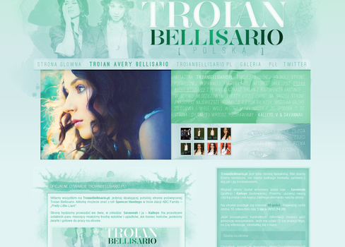 Troian Bellisario Layout by lovegonewrong
