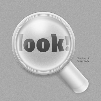 Magnifying Glass Icon - Free by Kaypearl