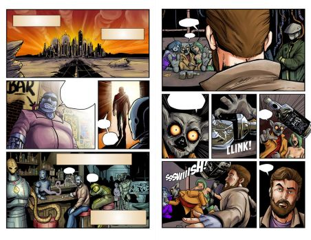 disunity Issue 2 pages 10-11 by BlotchComics