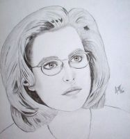 Scully from X-Files by Fe-Da-Lesk-Barndt