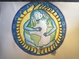 mother earth by tonez2