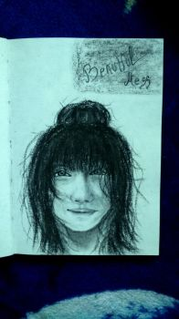 sketchbook - girl by Tsenov