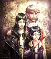 Raising Harry Part III (Remus/Sirius) by hueco-mundo