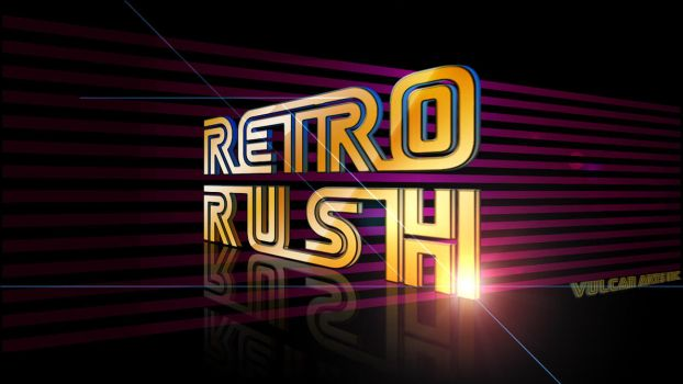 Retro Text Effect. by thoshi11
