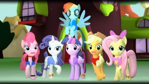 The Mane Six (Winger Edition) [Milestone picture] by TBWinger92