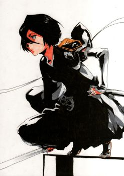 Frontpage 54 Bleach(Rukia) by manuel-sama