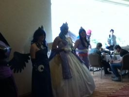 More of the Princess Cosplay group at EFNW 2013 by TaionaFan369