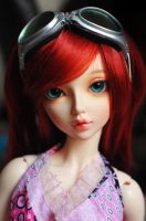 Red Hair and Blue Eyes by k3JennyCupcakes