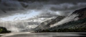 Loch Lochy, Scotland. by KM4JEM