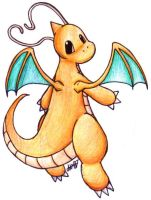 Dragonite by DerSchnurrbart