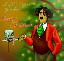 A Very Manly Christmas by squonkhunter