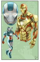 Iron Man 3 by HaphazardMachine