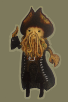 Davy Jones by mollay