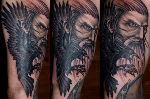 Odin by DarkSunTattoo