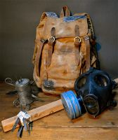 Post apocaliptyc survival kit - The last of us by Nerdbutpro