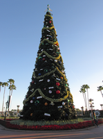 Epcot Christmas Tree by WDWParksGal-Stock
