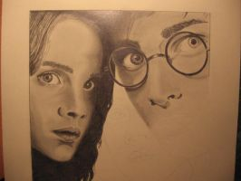 WIP Harry Potter III by OliviasArtwork
