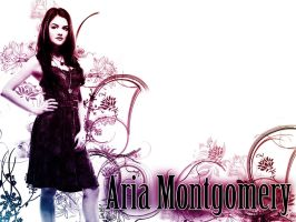 Aria Montgomery - Wallpaper by me969