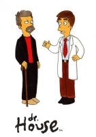 House MD - Simpson Style by ekzotik