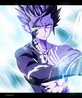 Fairy Tail 446 - Gray Fullbuster in action  ! ! by I-DEVOS