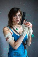 Lara Croft : Here I come. by NephilimCosplay