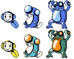 Tympole Palpitoad Seismitoad GSC Sprites