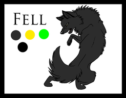 Ref Sheet: Fell by fenderbender368
